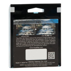Hoya YPND010077 Pro ND-Filter (Neutral Density 100, 77mm)-22