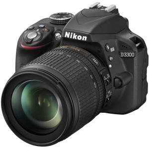 Nikon D3300 SLR-Digitalkamera (24 Megapixel, 7,6 cm (3 Zoll) TFT-LCD-Display, Live View, Full-HD) Kit inkl. AF-S DX 18-105mm VR-Objektiv schwarz-22