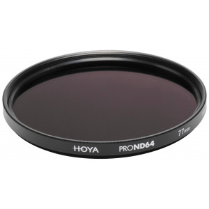 Hoya YPND006482 Pro ND-Filter (Neutral Density 64, 82mm)-22