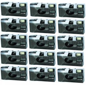 FV-Sonderleistung 1EFLK71-15 Klassik Kameralook Einwegkamera mit Blitz (15-er Pack)-22
