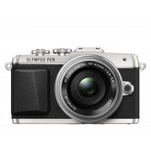 Olympus PEN E-PL7 Kompakte Systemkamera (16 Megapixel, elektrischer Zoom, Full HD, 7,6 cm (3 Zoll) Display, Wifi) inkl. 14-42 mm Pancake Objektiv silber/silber-22