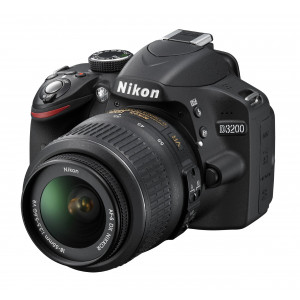 Nikon D3200 SLR-Digitalkamera (24 Megapixel, 7,4 cm (2,9 Zoll) Display, Live View, Full-HD) Kit inkl. AF-S DX 18-55 VR Objektiv schwarz-22