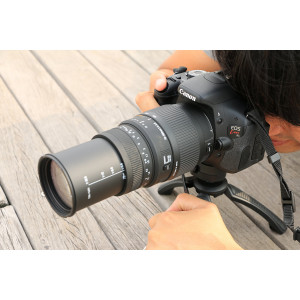 Sigma 70-300 mm F4,0-5,6 DG Makro-Objektiv (58 mm Filtergewinde) für Canon Objektivbajonett-22