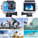 Action Cam WiFi Full HD Unterwasserkamera Digital Wasserdicht 2.0 Zoll LCD Helmkamera Mit 2 Stü. Batteries, Action Kamera für Motorrad, Fahrrad, helm, kinder, drohne, fahrrad, hunde etc-07