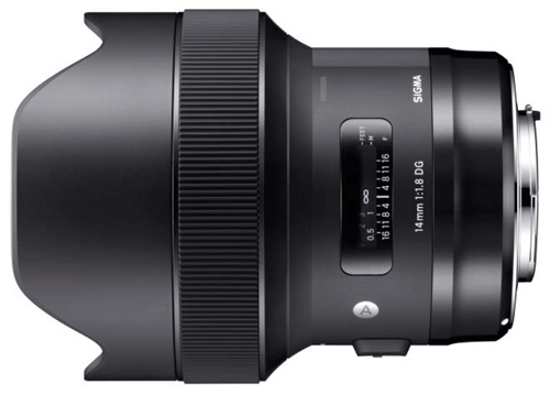 SIGMA 14mm F1.8 DG HSM
